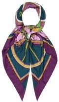 Hermes Washington's Carriage Cashmere Silk Shawl