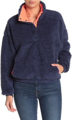 Abound Faux Shearling Fleece Pullover