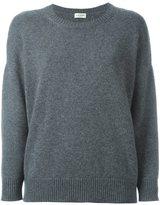 Saint Laurent round neck sweater - women - Cashmere - M