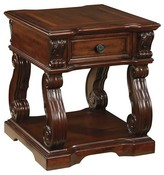 Ashley Alymere End Table - Rustic Brown - Signature Design®