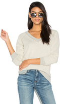 Three Dots V Neck Sweater