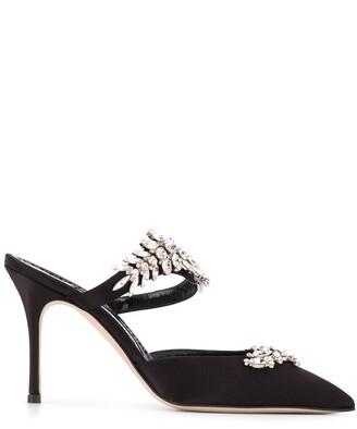 Manolo Blahnik Lurum mule heels