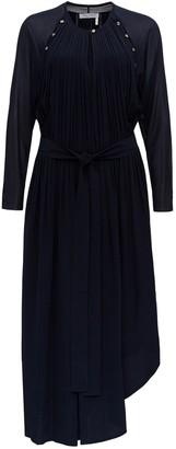 Chloé Pleated Maxi Dress