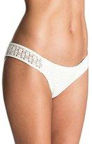 Roxy Women's Doted Crochet Scooter Bikini Bottom
