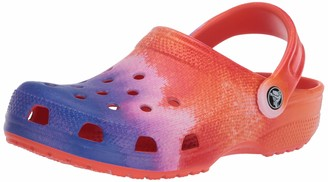 Crocs Men's and Women's Classic Vacay Vibes Clog|Casual Slip On Water Shoe Cantaloupe 9 US 7 US M US