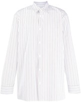 Maison Margiela Striped Button Up Shirt
