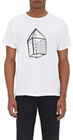 Rag & Bone MEN'S GEOMETRIC BLOCK JERSEY T-SHIRT