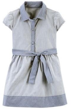 Carter's Toddler Girls Striped Shirt Dress