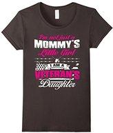 BeeTee: Veteran's Daughter - Not Mommy's Little Girl T-Shirt
