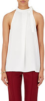 Theory Women's Maysprin Halter Top-WHITE