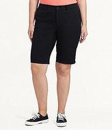 Lauren Ralph Lauren Plus Stretch Cotton Shorts