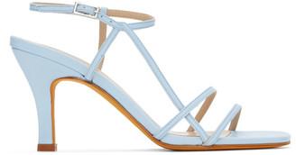 Maryam Nassir Zadeh Blue Irene Sandals