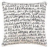 Kate Spade This is the Life Written Word Square Pillow