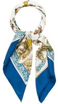 Hermes L'Hiver Silk Scarf