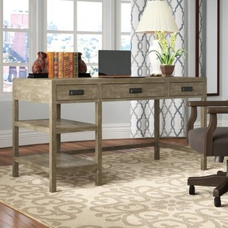 Three Posts Upson Solid Wood Desk