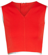 Theory Theory+ Zeen Cropped Stretch-Jersey Top