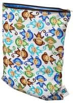 Bed Bath & Beyond Planet Wise Medium Wet Bag in Monkey Fun