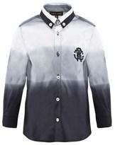 Roberto Cavalli Ombre Poplin Shirt
