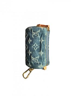 Louis Vuitton Blue Denim - Jeans Clutch bags