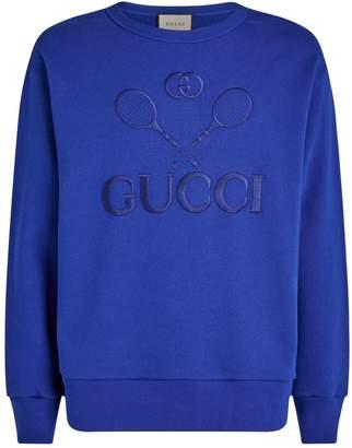 Gucci Tennis Graphic Sweatshirt