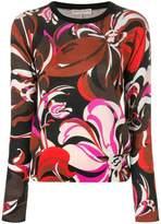 Emilio Pucci floral sweater