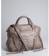 Rebecca Minkoff lavender leather zip 'Jealous' top handle bag