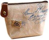 SODIAL(R) Retro Women Lady Girl Coin Bag Purses Wallet Samll Pouches