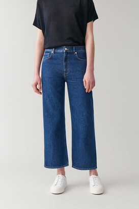 Cos High-Waisted Straight Jeans