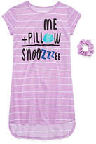 Arizona Short Sleeve Nightshirt-Big Kid Girls