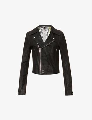Rick Owens Dracubiker leather jacket