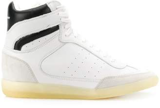 Isabel Marant concealed-wedge high-top trainers