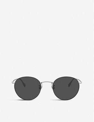 Oliver Peoples OV1186S Coleridge Sun metal and crystal round sunglasses