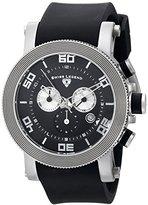 Swiss Legend Men's 30465-01 Cyclone Analog Display Swiss Quartz Black Watch