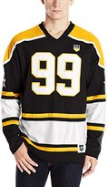 Southpole Men's Hockey Jersey Stadium with Faux Leather Applique and Body Cuts Shirt