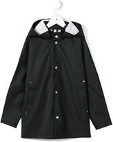 Stutterheim Kids - 'Stockholm' raincoat - kids - Cotton/Polyester/PVC - 4 yrs