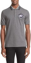 Givenchy Men's Cotton Pique Polo With Monkey Patch