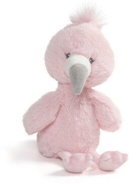 Gund Baby Boys or Girls Baby Toothpick Flamingo Plush Toy