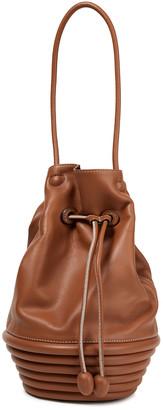 STAUD Rosa Leather Bucket Bag