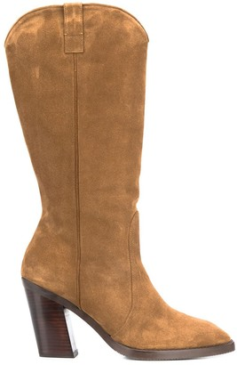 Stuart Weitzman Cheska calf boots