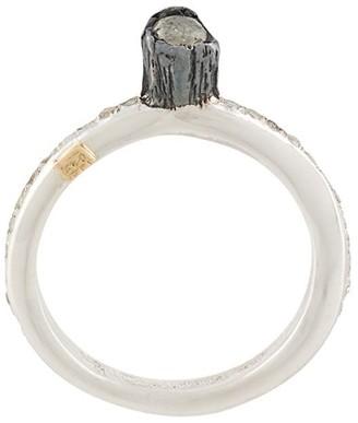 Rosa Maria Diamond Embellished Ring