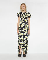 Marni Deconstructed Floral Dress