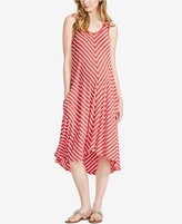 Jessica Simpson Maternity Striped Sleeveless Dress from Motherhood Maternity