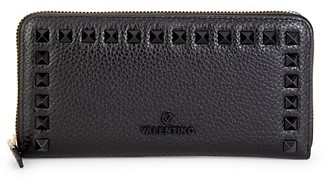 Valentino By Mario Valentino Grace Dollaro Leather Continental Wallet