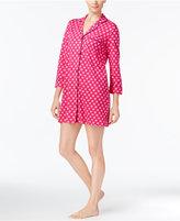 Kate Spade short Piped Knit Sleepshirt