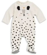 Catimini Baby's Dotted Cotton Footie