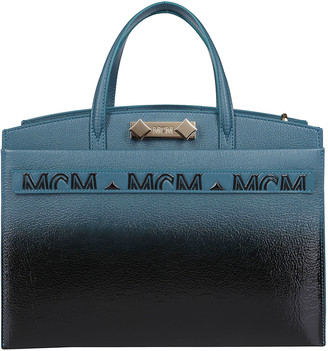 MCM Gradient Top Handle Tote Bag