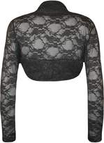 WearAll Women's Lace Shrug