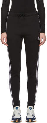 adidas Black Regular Cuffed Track Pants