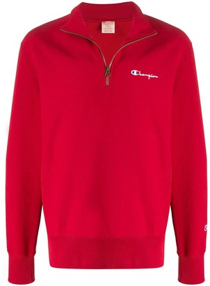 Champion Half-Zip Sweatshirt