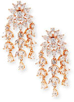 Fallon Monarch Weeping Fern Crystal Earrings